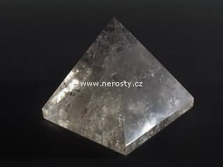 rock crystal, pyramid